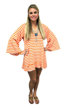 Indiana Tassel Dress Stripe