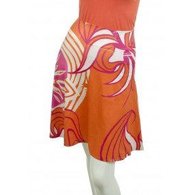 Silky Brenda Skirt | Sand Dollar Orange