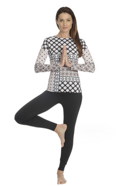 Riley Active Top | Miscellany Black