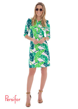 Winpenny Dress | Beverly Hills Leaf Green |  Persifor