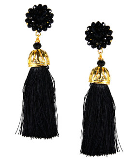 Coco Earrings | Black