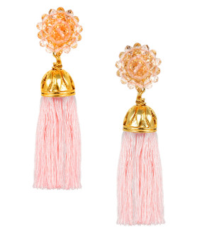 Coco Earrings | Light Pink