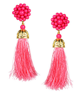 Coco Earrings | Miss Pink