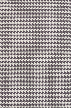 Checks Shale Cotton Woven Rug