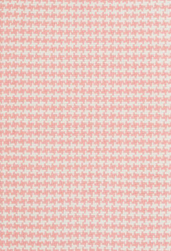 Checks Coral Cotton Woven Rug