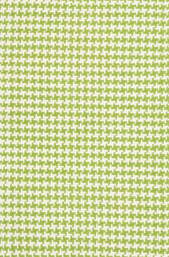Checks Green Cotton Woven Rug