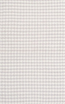 Checks Pearl Grey Cotton Woven Rug