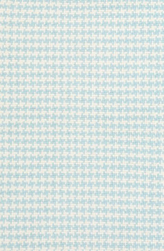 Checks Sky Cotton Woven Rug