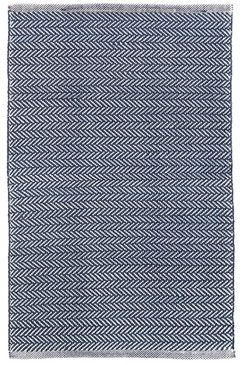 C3 Herringbone Indigo Indoor/Outdoor Rug