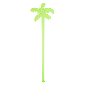 Drink Stirrers 16 Set Palm Tree- Green