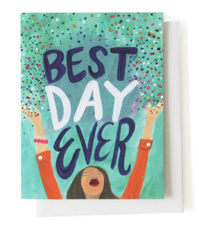Best Day Ever Post Card