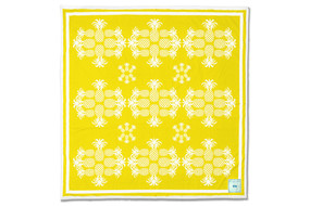 Lemon Pineapples Beach Sheet