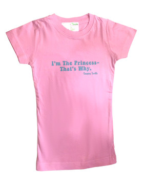 "Childrens ""I'm the Princess, That's Why"" Tee"