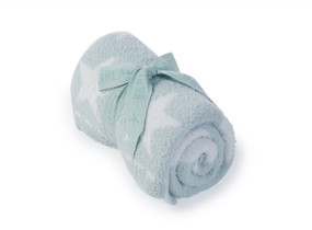 Aqua CozyChic Dream Receiving Kids Blanket