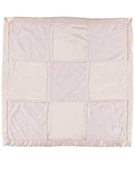 Pink Cuddle Patchwork Receiving Blanket