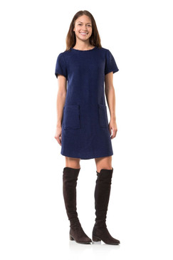 Navy in New York Crew Dress