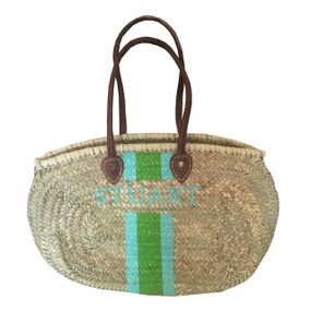 Create Your Own Personalized Hand Painted Medium Oval Shoulder Tote