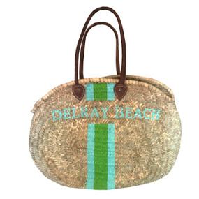 Create Your Own Personalized Hand Painted Large Oval Shoulder Tote