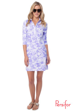 Winpenny Dress | Toile in Thistle |  Persifor