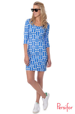 Kilpatrick Dress  | Tile in Calypso | Persifor