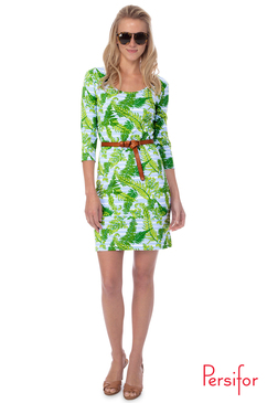 Kilpatrick Dress  | Provence Palms in Fern Green | Persifor