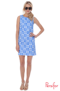 Smitty Dress | Tile in Calypso | Persifor