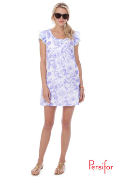 Clare Dress | Toile in Thisle | Persifor