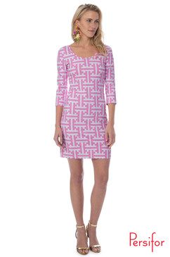 Kilpatrick Dress  | Tile in Tulip | Persifor