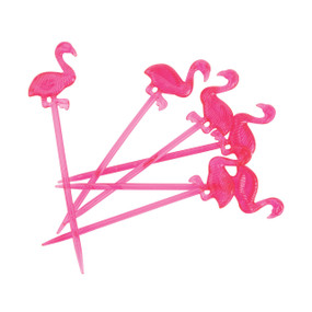 Flamingo Cocktail Forks