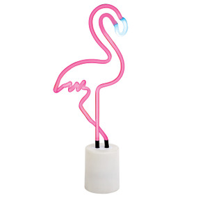 Large Flamingo Neon Light