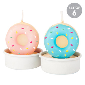 Donut Tea Candles