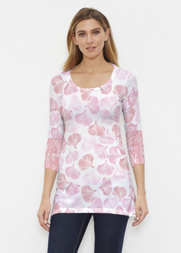 Before & Again   Buttersoft Tunic   Ginko Pink