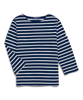 Saint James | Galathee Top | Navy & White Stripe