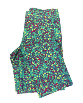 Krazy Larry Floral Print Pull On Pant