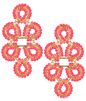 Ginger Earrings | Miss Pink