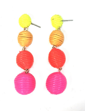Gum Drop Earrings |  Multi