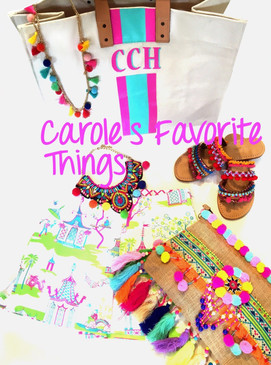 Carole's Favorite Things | Hand Painted Personalized Canvas Bag | Insta