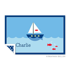 Sailboat Children's Placemat