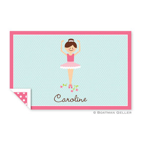 Ballerina Children's Placemat