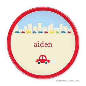 Traffic Children's Plate