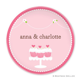Cupcakes Children's Plate