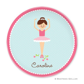 Ballerina Portrait Children's Plate