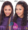 Janet Collection Indian Remy Human Hair Ripple Deep Bulk 18""