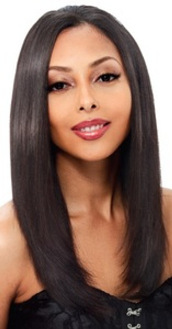 """Janet Collection Remy Human Hair Fit Clip Weave 14"""""""