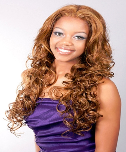 Aplus Ozone Synthetic Hair Lace Front Wig Lace 006 Natalia