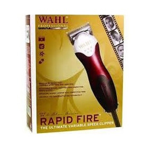 The New Wahl 5 Star Rapid Fire Variable Speed Heavy Duty Hair CLIPPER