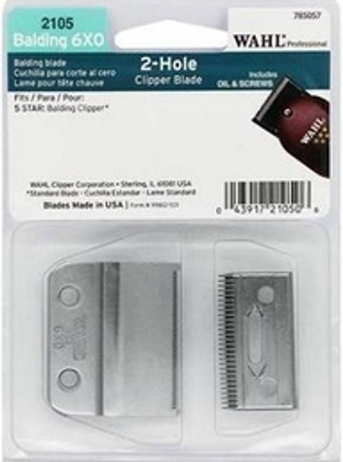 Wahl 2105 Professional 2 Hole Balding 6X0 Blade