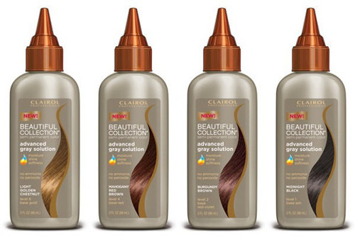 Clairol Beautiful Collection Advanced Gray Solution Semi-permanent Color- 3oz