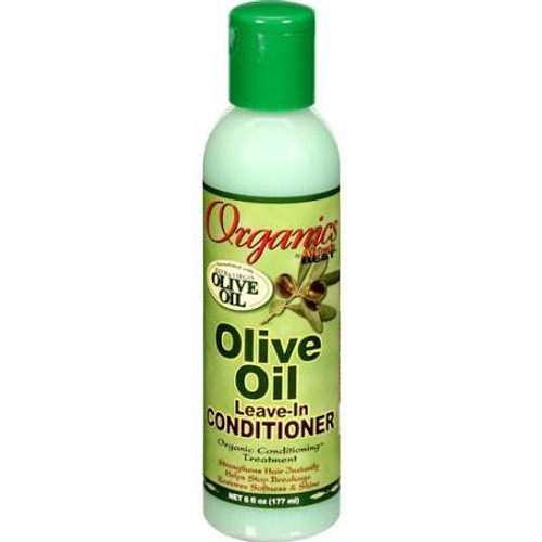 Africa's Best Organics Leave-In Conditioner, Olive Oil - 6oz