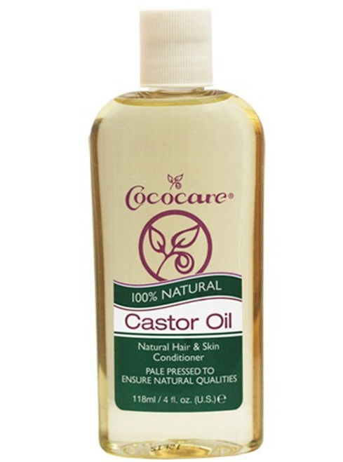 100% NATURAL CASTOR OIL- 4oz